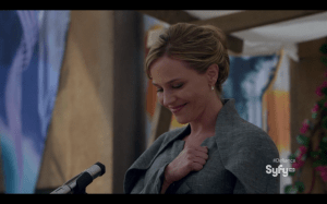 "Julie Benz ""Mayor Amanda Rosewater"""